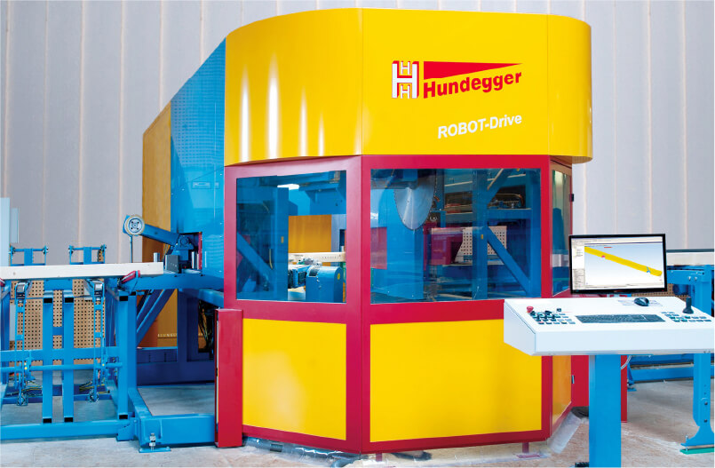 構造材用特殊加工機