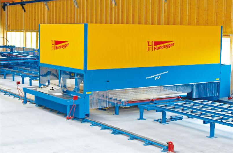 マッシブホルツ・NLT生産加工システム