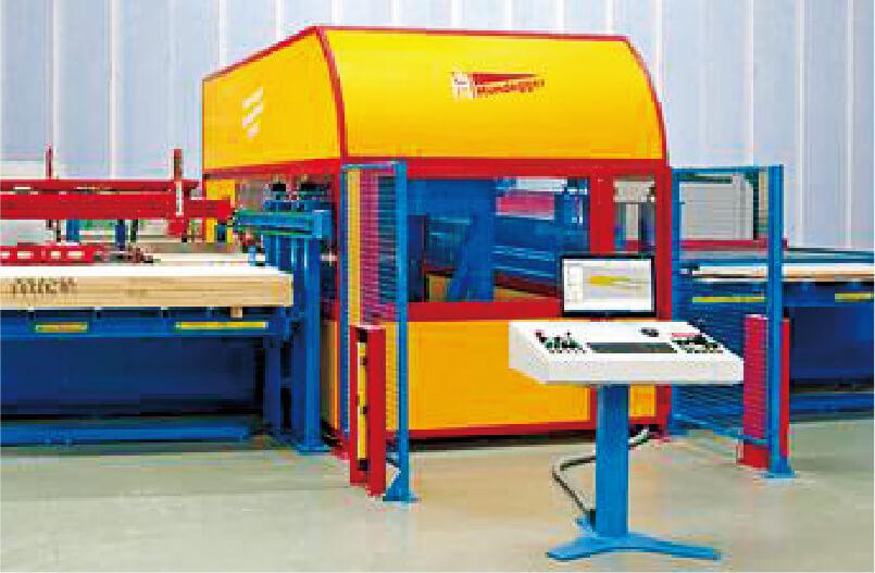 構造用合板・薄型CLT加工機