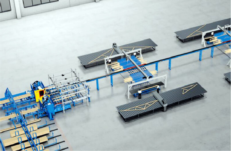 トラス部材生産システム